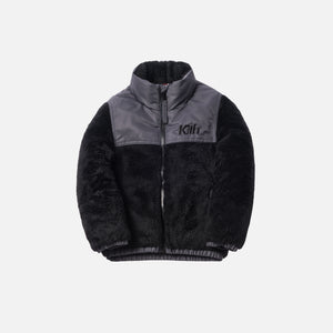 Kith Kids Shearling Pumori - Black