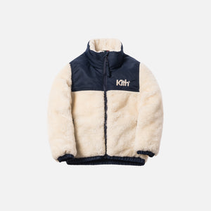 Kith Kids Shearling Pumori - Natural