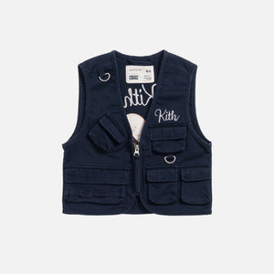Kith Kids Ted Tactical Vest - Navy
