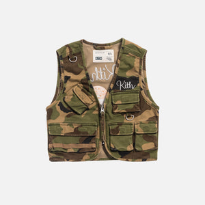 Kith Kids Ted Tactical Vest - Woodland Camo