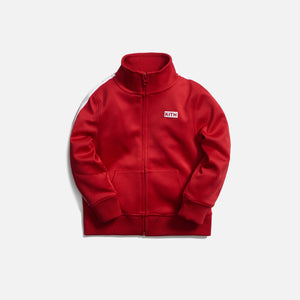 Kith Kids Racer Track Jacket - Barbados Cherry
