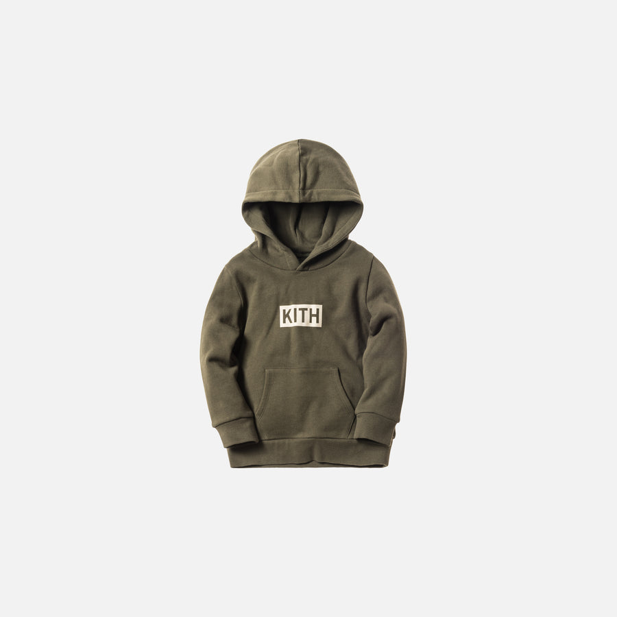 Kidset Classic Logo Williams Hoodie - Olive
