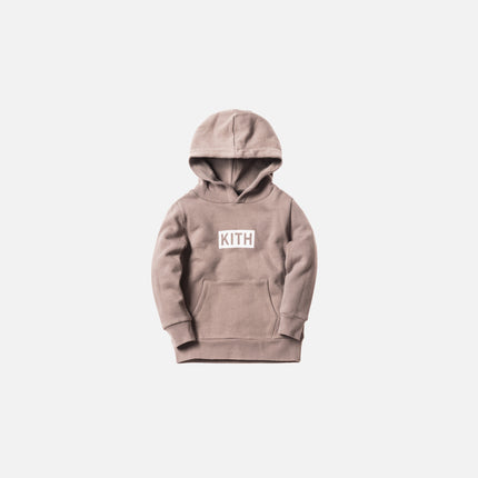 Kith Kids Classic Logo Williams Hoodie - Cinder