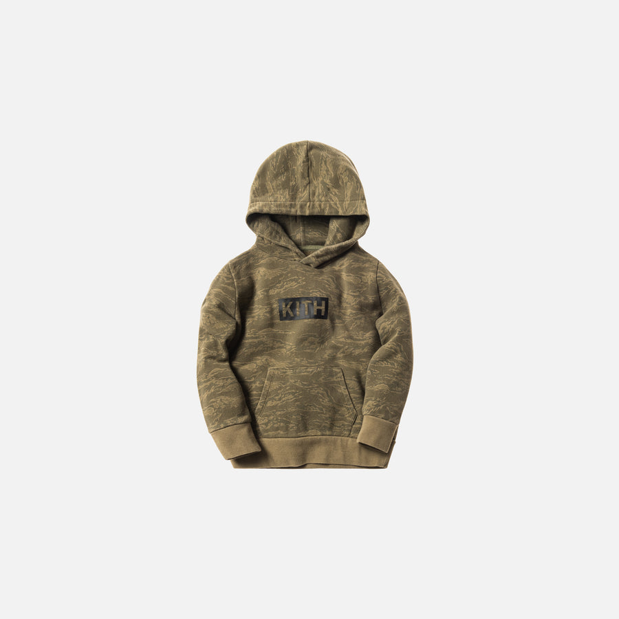 Kidset Classic Logo Williams Hoodie - Tiger Camo