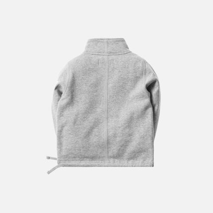 Kith Kids Half-Zip Pullover - Heather Grey