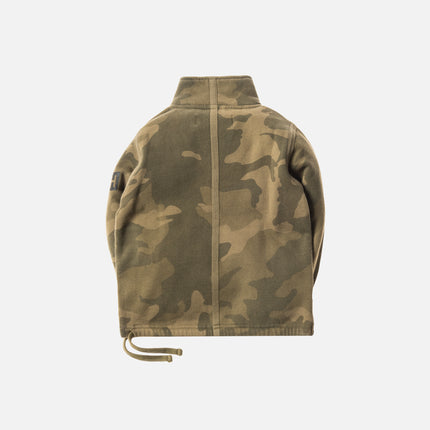 Kith Kids Half-Zip Pullover - Woodland Camo