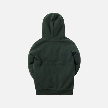 Kith Kids Classic Logo Williams Hoodie - Forest Green