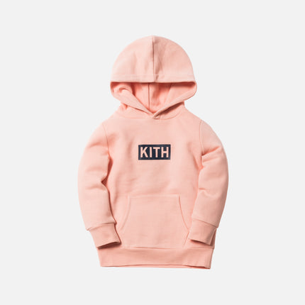 Kith Kids Classic Logo Williams Hoodie - Coral