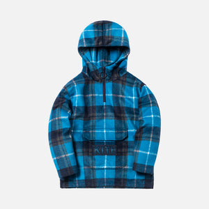 Kith Kids Harrison Plaid Pullover - Royal Blue Plaid