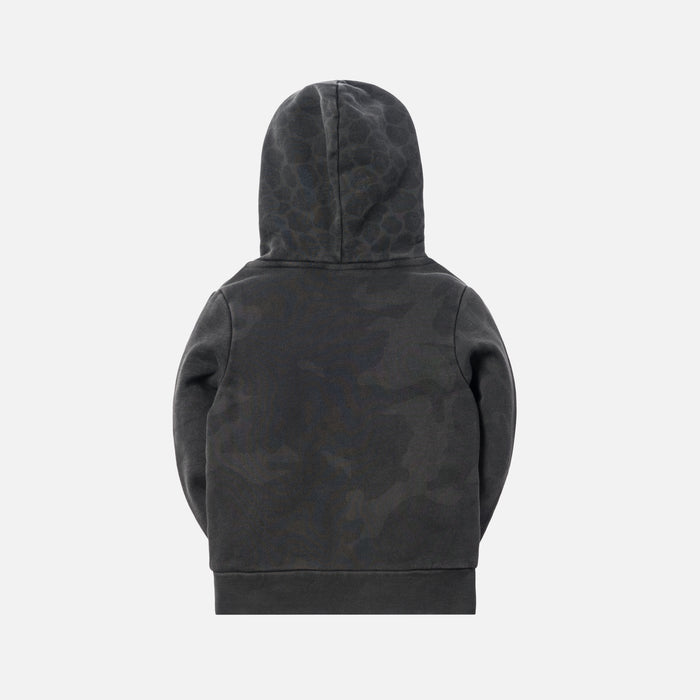 Kith Kids Camo Blocked Pullover - Black
