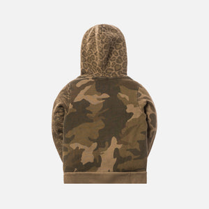 Kith Kids Camo Blocked Pullover - Green