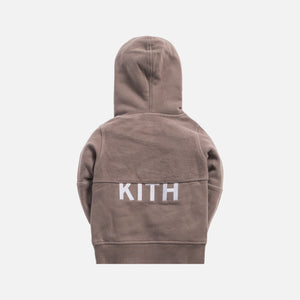 Kith Kids Blocked Williams Hoodie - Cinder
