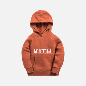 Kith Kids Blocked Williams Hoodie - Clay