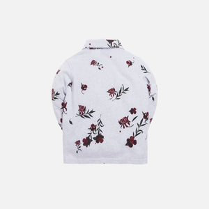 Kith Kids Floral Rugby - Heather Grey