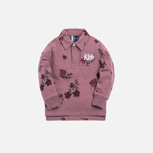 Kith Kids Floral Rugby - Grape Shake