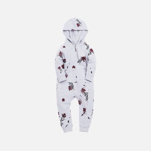 Kith Kids Toddlers Floral Coverall - Heather Grey
