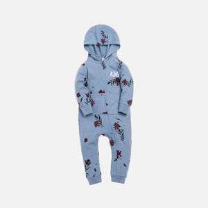 Kith Kids Toddlers Floral Coverall - Ashley Blue