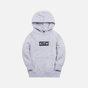 Kith Kids Classic Logo Williams Hoodie - Heather Grey