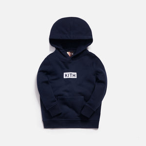 Kith Kids Classic Williams Hoodie - Navy
