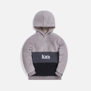 Kith Kids Blocked Faux Sherpa Harrison - Grey / Multi
