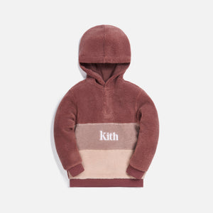 Kith Kids Blocked Faux Sherpa Harrison - Mauve / Multi Image 1