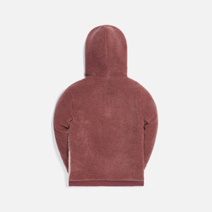 Kith Kids Blocked Faux Sherpa Harrison - Mauve / Multi