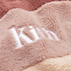 Kith Kids Blocked Faux Sherpa Harrison - Mauve / Multi Image 3