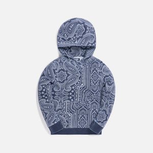 Kith Kids Aop Williams Hoodie - Navy