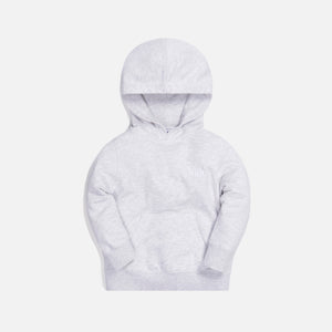 Kith Kids Classic Serif Hoodie - Heather Grey