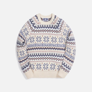 Kith Kids Fairisle Sweater - Turtledove / Multi