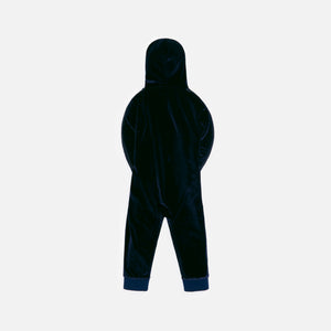 Kith Kids Baby Velour Coverall - Shark