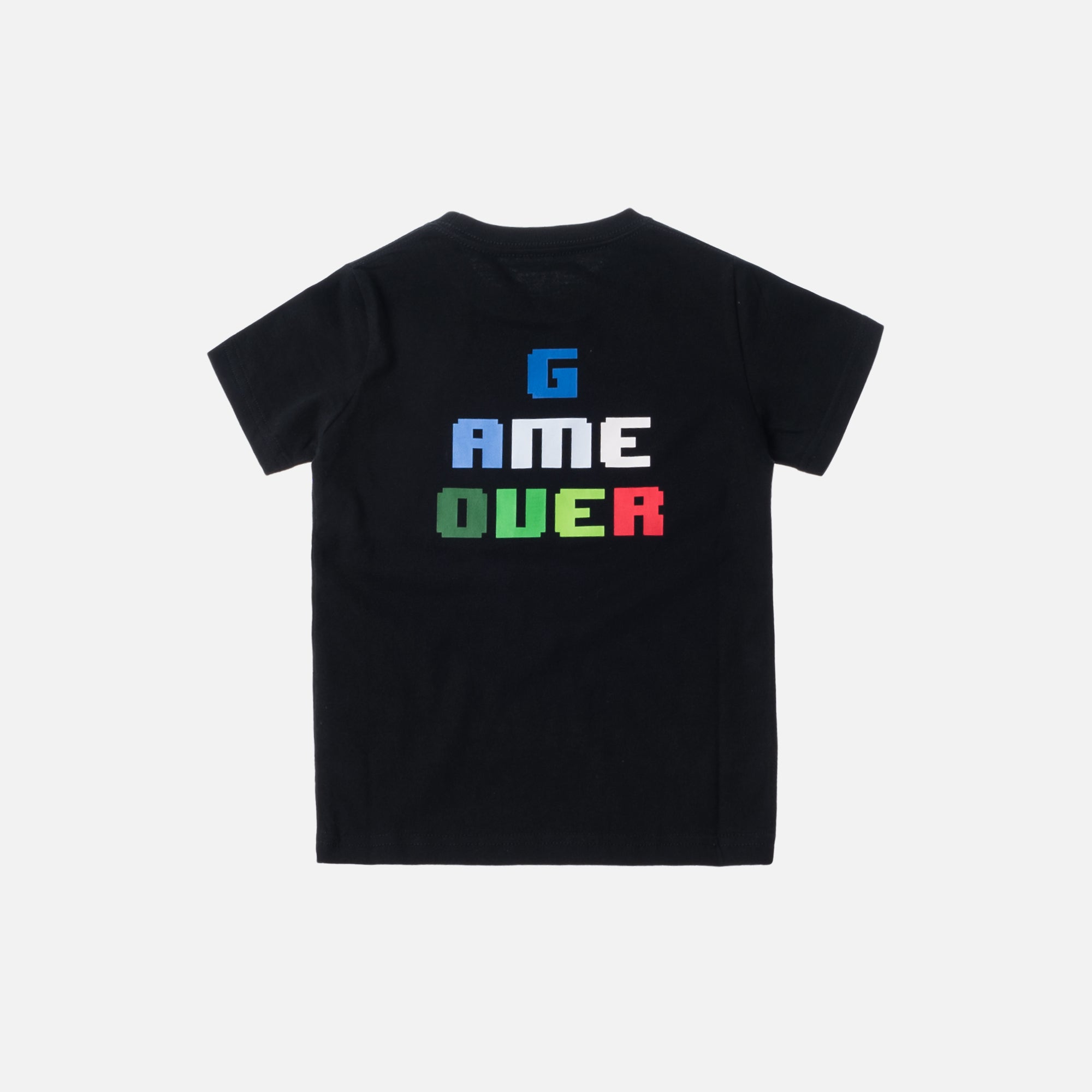 Kith Kids Game Over Tee - Black