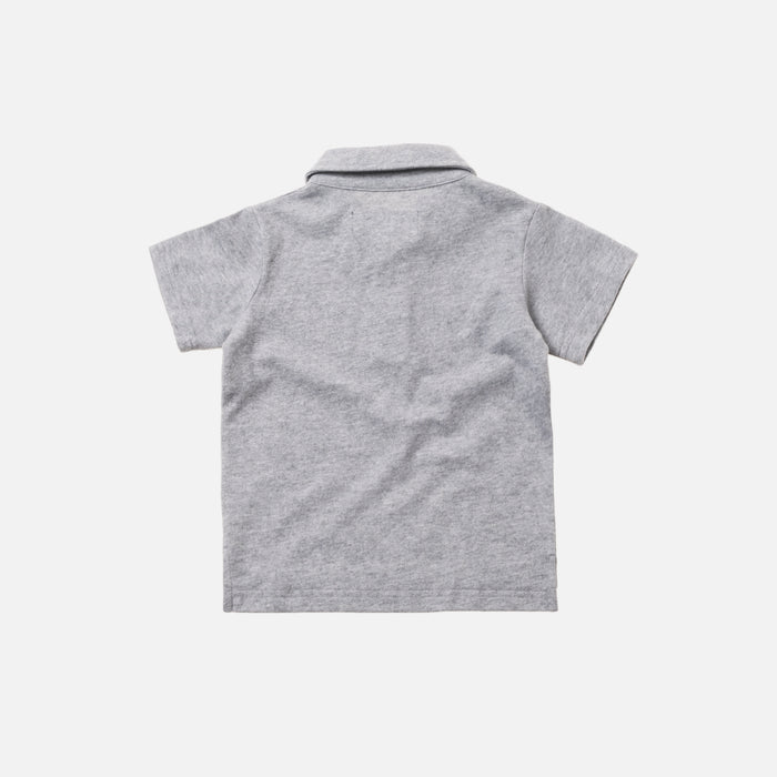 Kith Kids Polo - Heather Grey