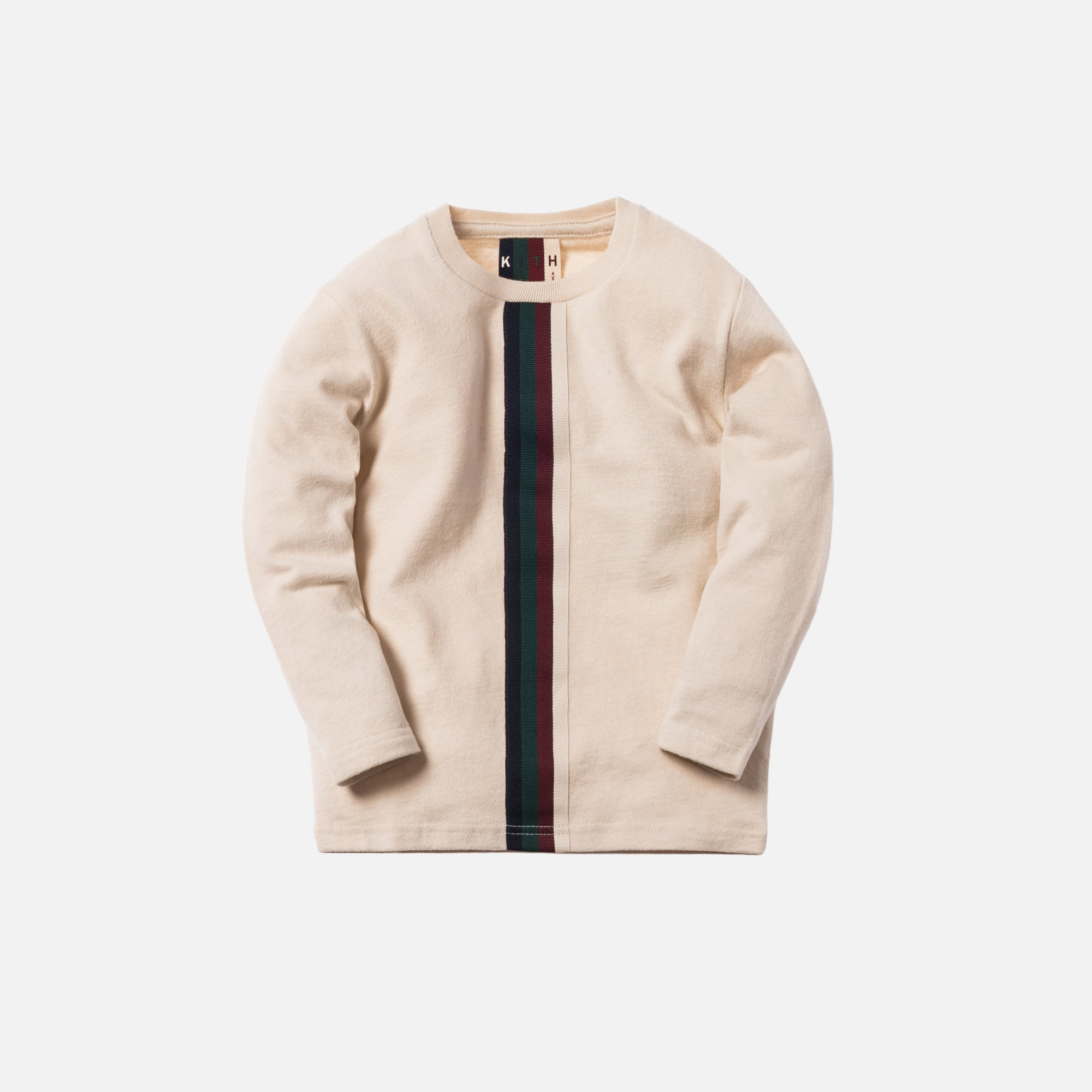 Kith Kids Grosgrain L/S Tee - Natural