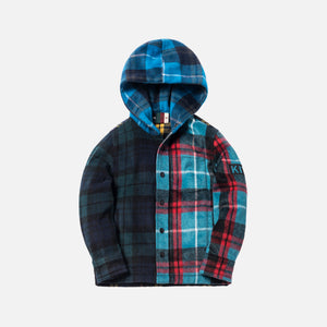 Kith Kids Combo Plaid Flannel Shirt - Multi
