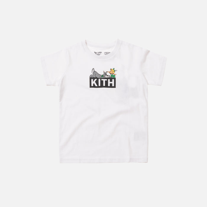 Kith Kids x Jetsons Elroy and Astro Tee - White
