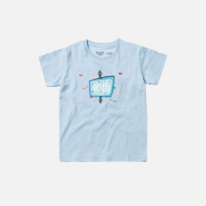 Kith Kids x Jetsons Drive In Tee - Blue