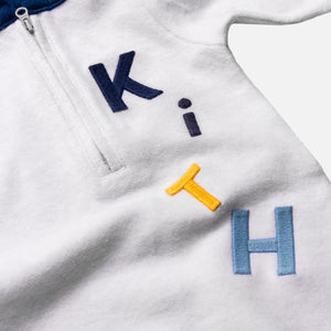 Kith Kids Toddlers Reverse Williams Coverall - Heather Grey