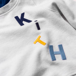 Kith Kids Reverse Williams Hoodie - Heather Grey