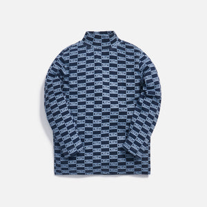 Kith Kids Marley Mock Neck - Blue Multi