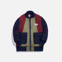 Kith Kids Bailey Bomber Jacket - Navy Multi Thumbnail 1