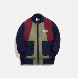 Kith Kids Bailey Bomber Jacket - Navy Multi Image 1
