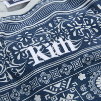 Kith Kids Quincy L/S Crew - Navy Thumbnail 1