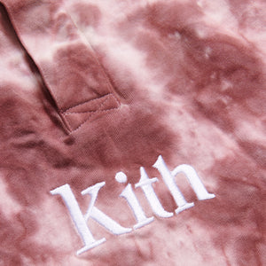 Kith Kids Taylor Tie Dye Rugby - Mauve / Multi Image 3