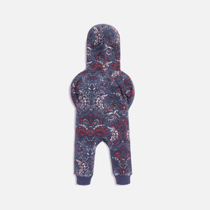 Kith Kids Baby AOP Coverall - Navy / Multi
