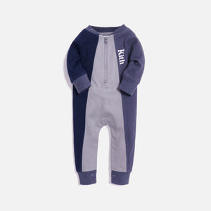 Kith Kids Baby Tri Block Coverall - Blue / Multi