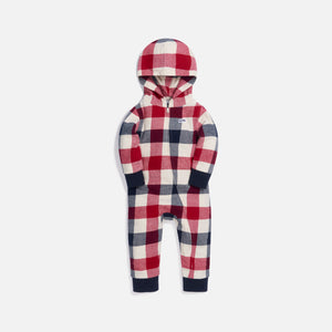 Kith Kids Baby Plaid Coverall - Beige