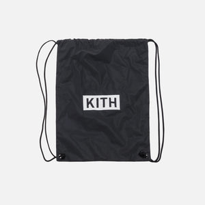 Kith Kids Drawstring Bag - Black
