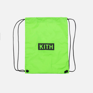 Kith Kids Drawstring Bag - Green