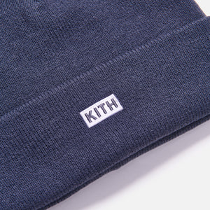 Kith Kids Toddler Classic Logo Beanie - Navy Image 3